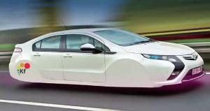 schwebende Autos?