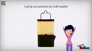 Salzwasserbatterie